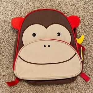 Children's monkey book bag